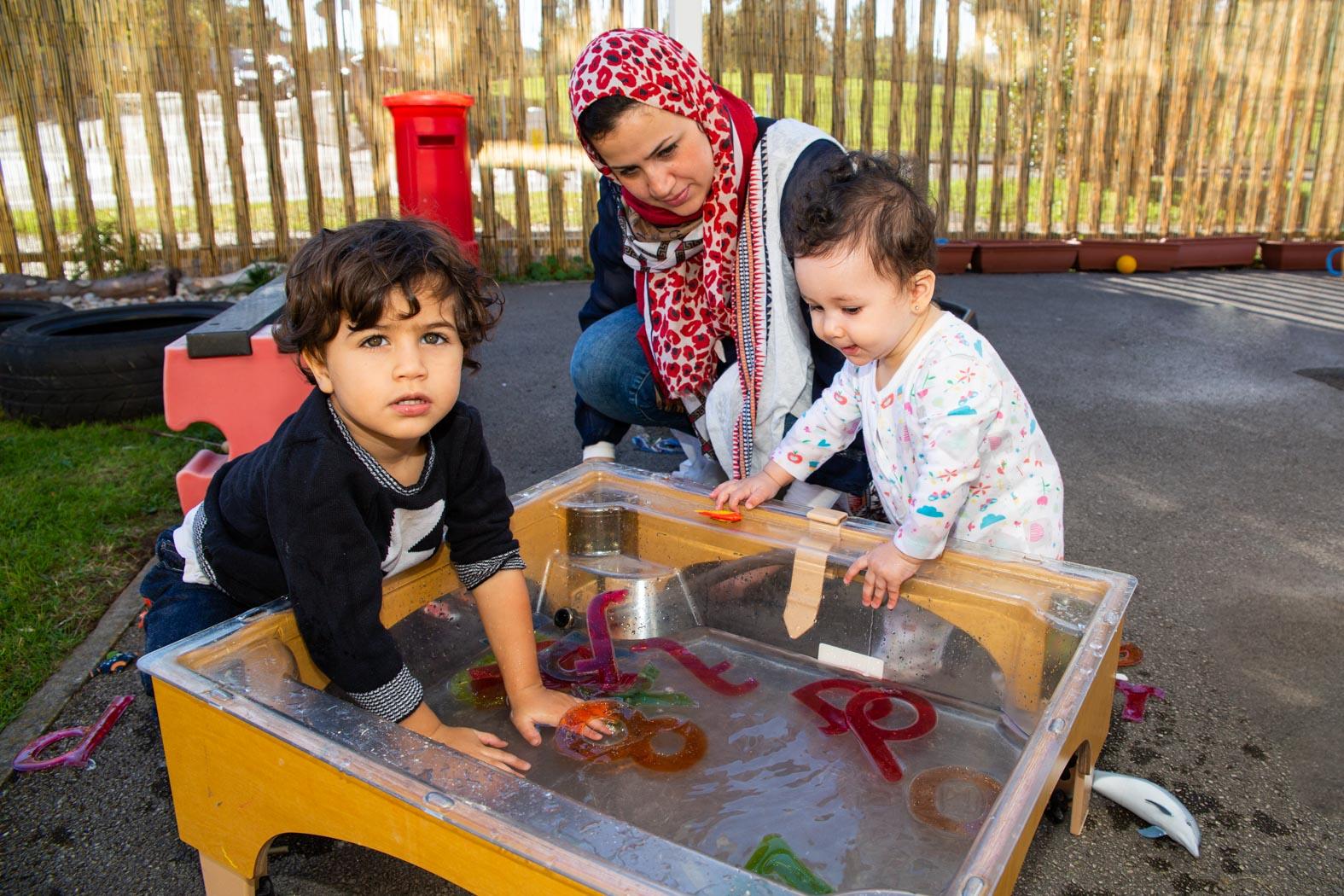 Spurgeons, Castlevale Children's Centre, 27Sept2018, ©BronacMcNeill