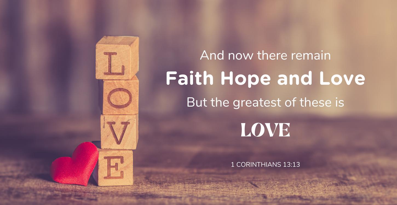 1 Corinthians 13.13