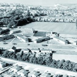 Aerial View of the Spurgeons Children's home in Birchington